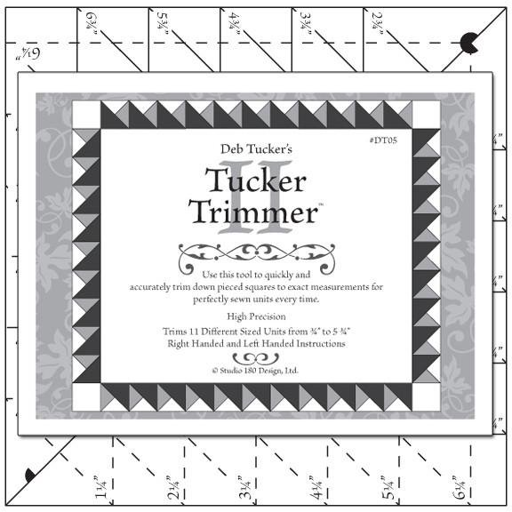 Tucker Trimmer 2 Ruler Deb Tucker's