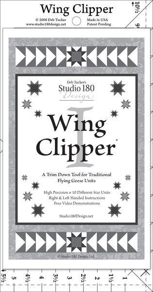 Wing Clipper 1 Ruler Deb Tucker's