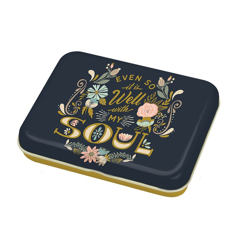 Well with My Soul Trinket Tin by Fancy That Design house for Moda - copy