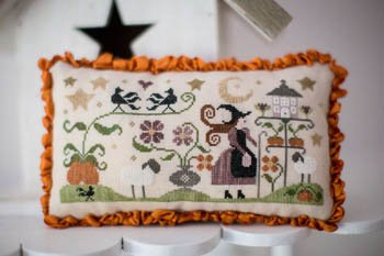 Story of a shepherdess - Autumn cross stitch pattern