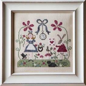 Alice cross stitch pattern by Tralala