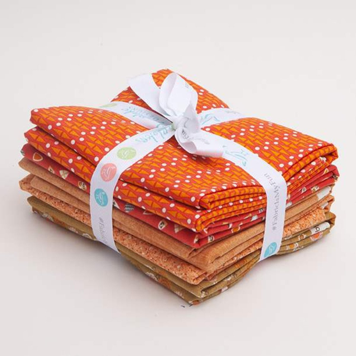 Curated Fabric Bundle - Orange #2