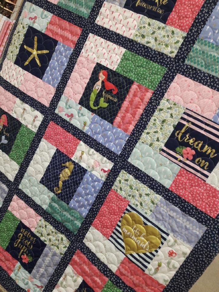 Mermaids Fabric Kit