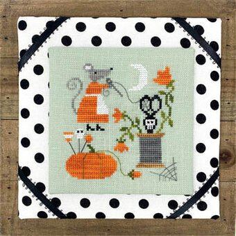 mouses halloween stitching | cross stitch by Tiny Modernist