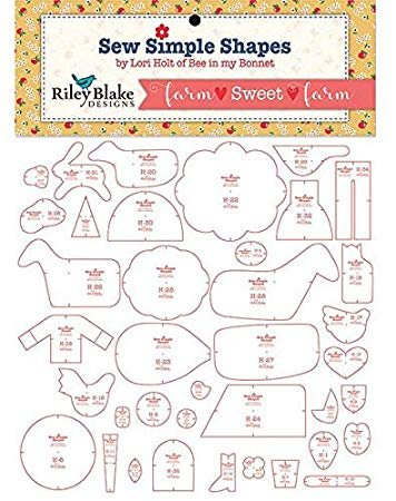 Lori Holt - Sew Simple Shapes - Farm Sweet Farm