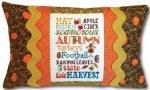 Autumn Typography Pillow Kit
