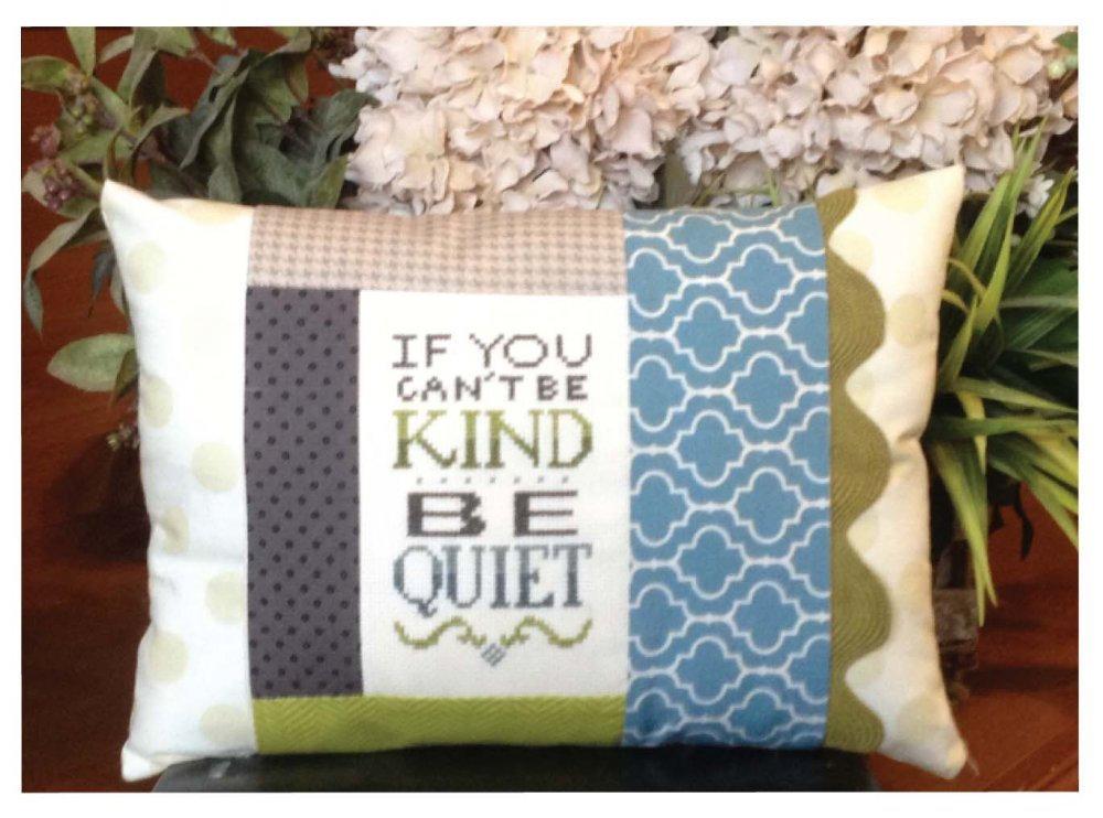 Be Kind Pillow Kit-Words of Wisdom
