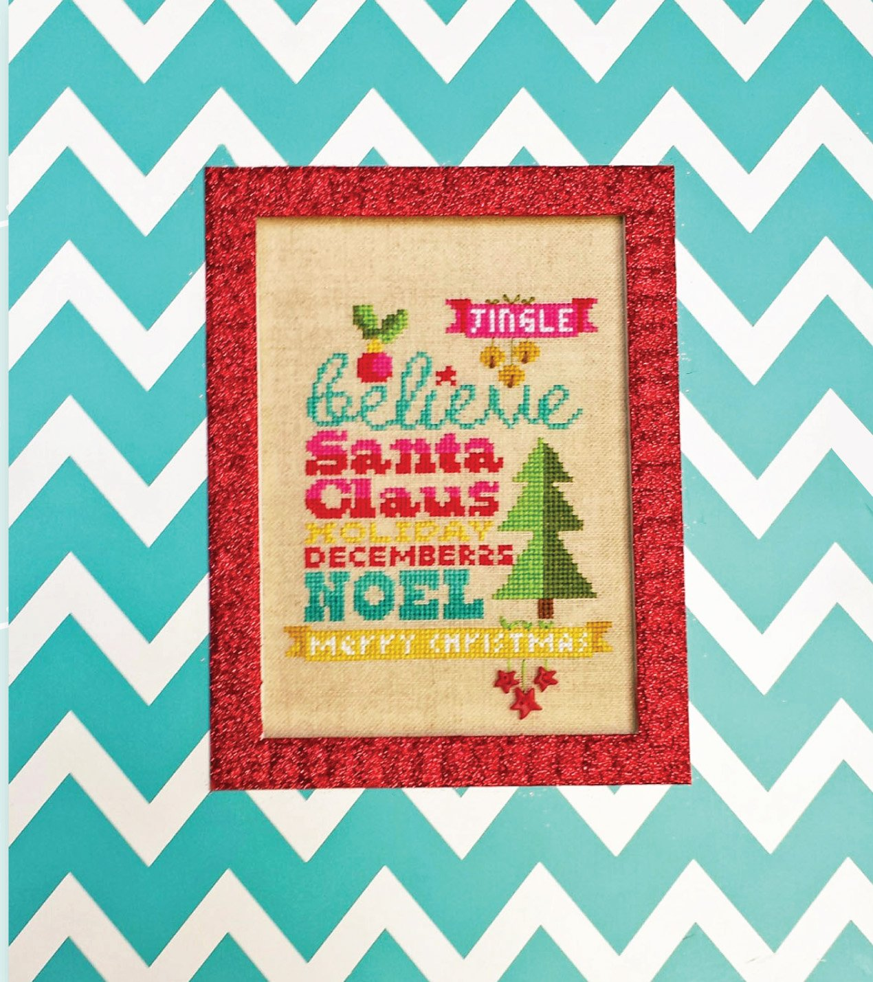 Believe In Christmas Linen Kit