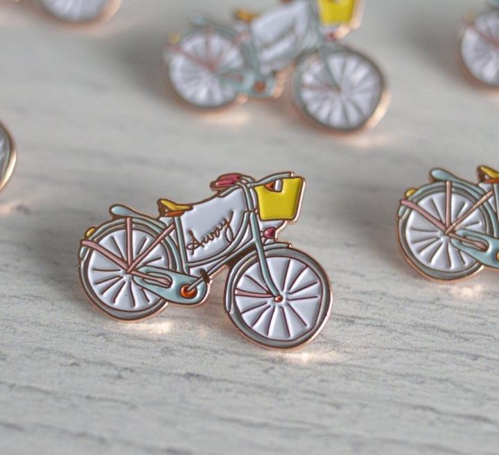 Bicycle Enamel Pin
