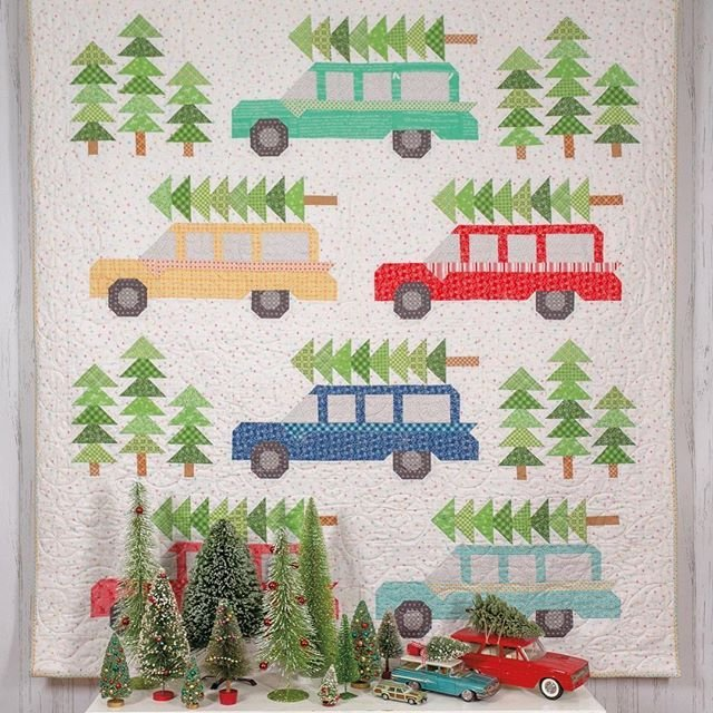 Bringing Home the Tree-Lori Holt Fabric Kit