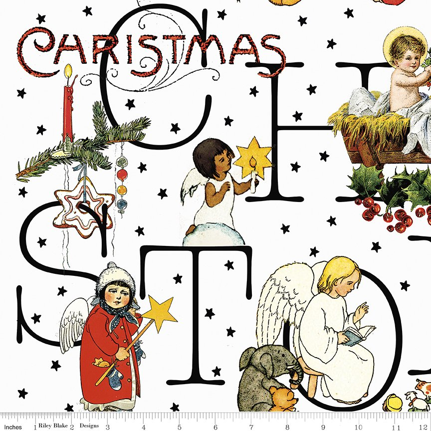 all about Christmas c10794 white