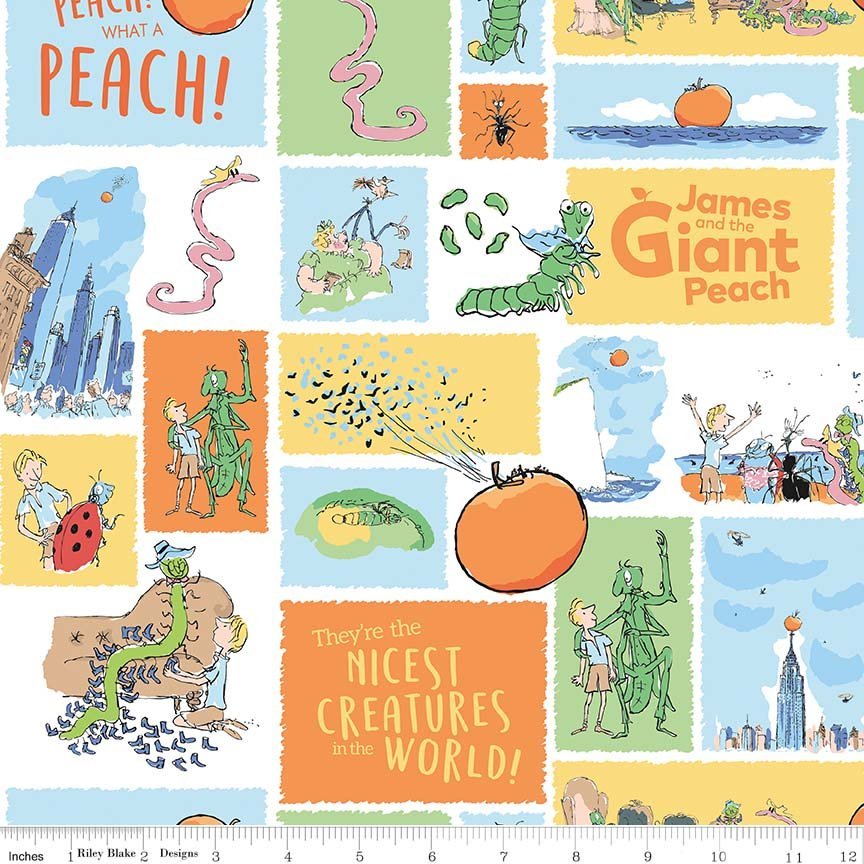 Riley Blake James and the Giant Peach