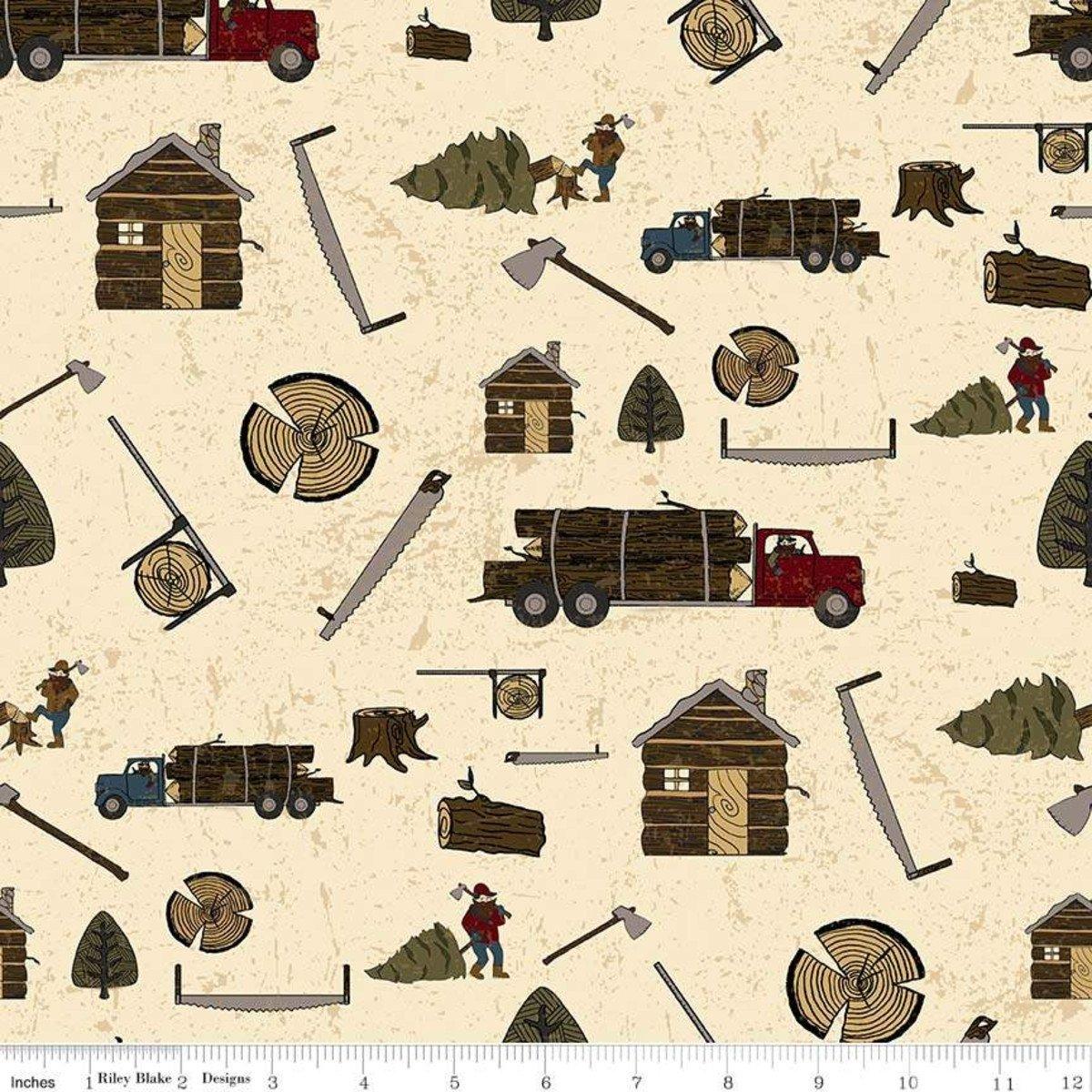Lumberjack Aaron by Riley Blake