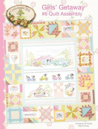 Crab apple Hill - Girls' Getaway 6 Assembly Quilt