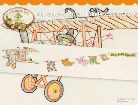 Crab apple Hill - Stitchwitch Spellbinders Quilt Show 1 Nivelda Fifflestitch # CAH2560