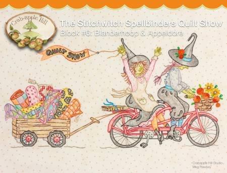 Crab apple Hill - Stitchwitch Spellbinders Quilt Show 6 Blanderhoop & Appeldore