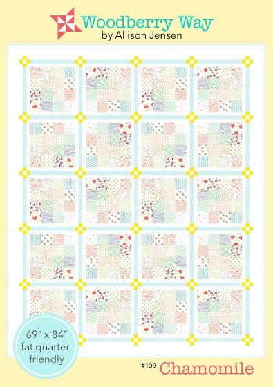Chamomile Quilt Pattern