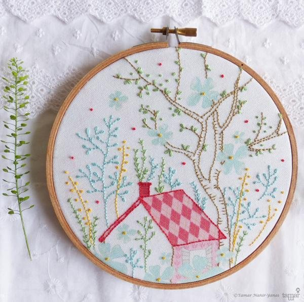 TamarNahirYanai - Dream House Embroidery Kit