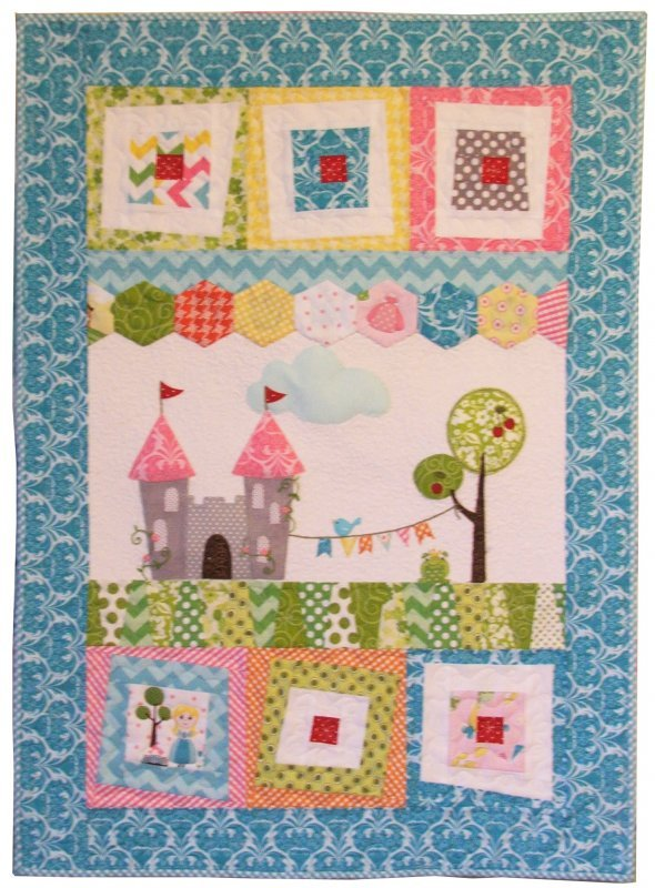 Enchanted Wonky Fabric Kit