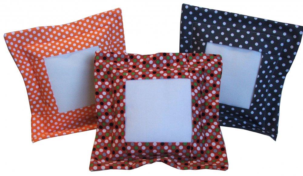 Essential Flange Pillow-Multi Dot