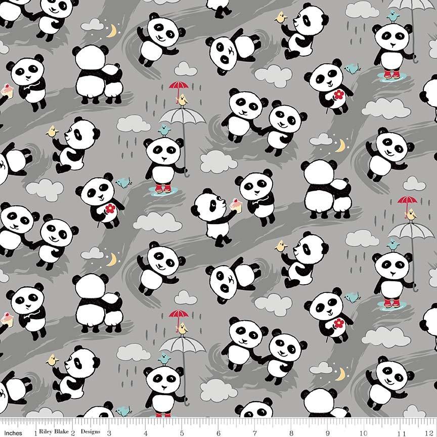 Riley Blake Panda Love Flannel