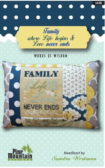 Family Never Ends Pillow Kit