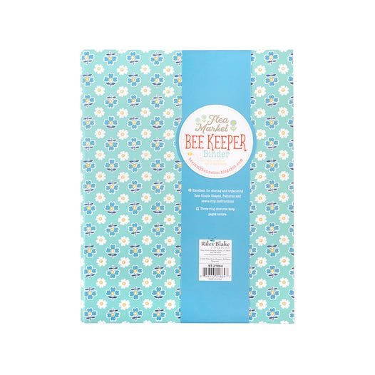 Flea Market Bee Keeper Binder
