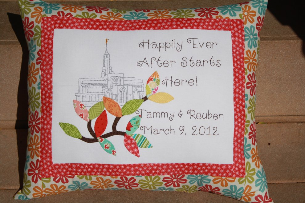 Oh My Bloomin Threads - Happily Ever After Mount-Timpanogos Temple