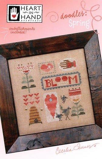Doodles: Spring - Cross Stitch Pattern