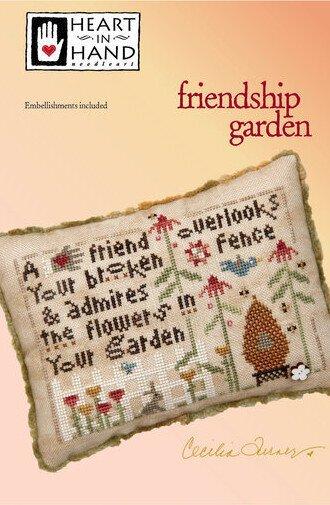 Friendship Garden - Cross Stitch Pattern