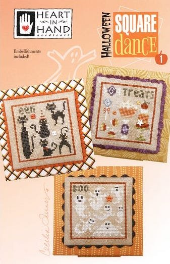 Halloween Square Dance - Cross Stitch Pattern