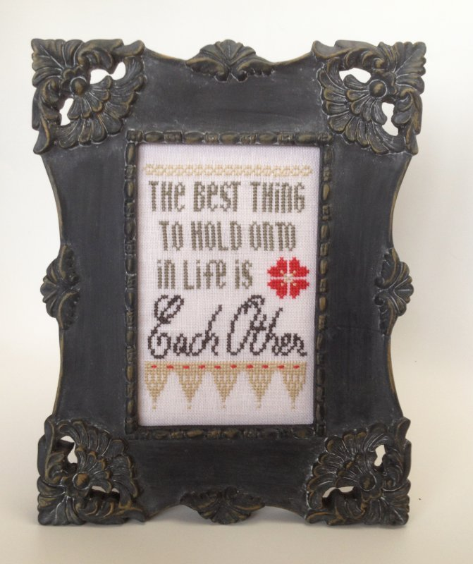 Hold Onto Each Other Linen Kit-Words of Wisdom