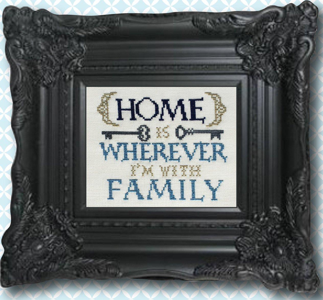 Where I'm With Family Linen Kit