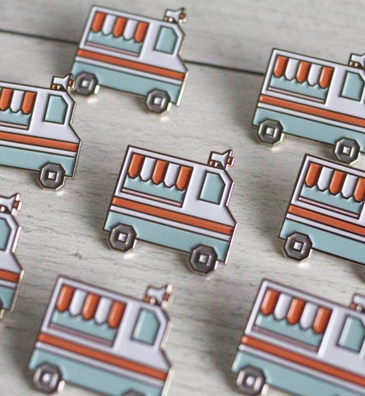 Ice Cream Truck Pin