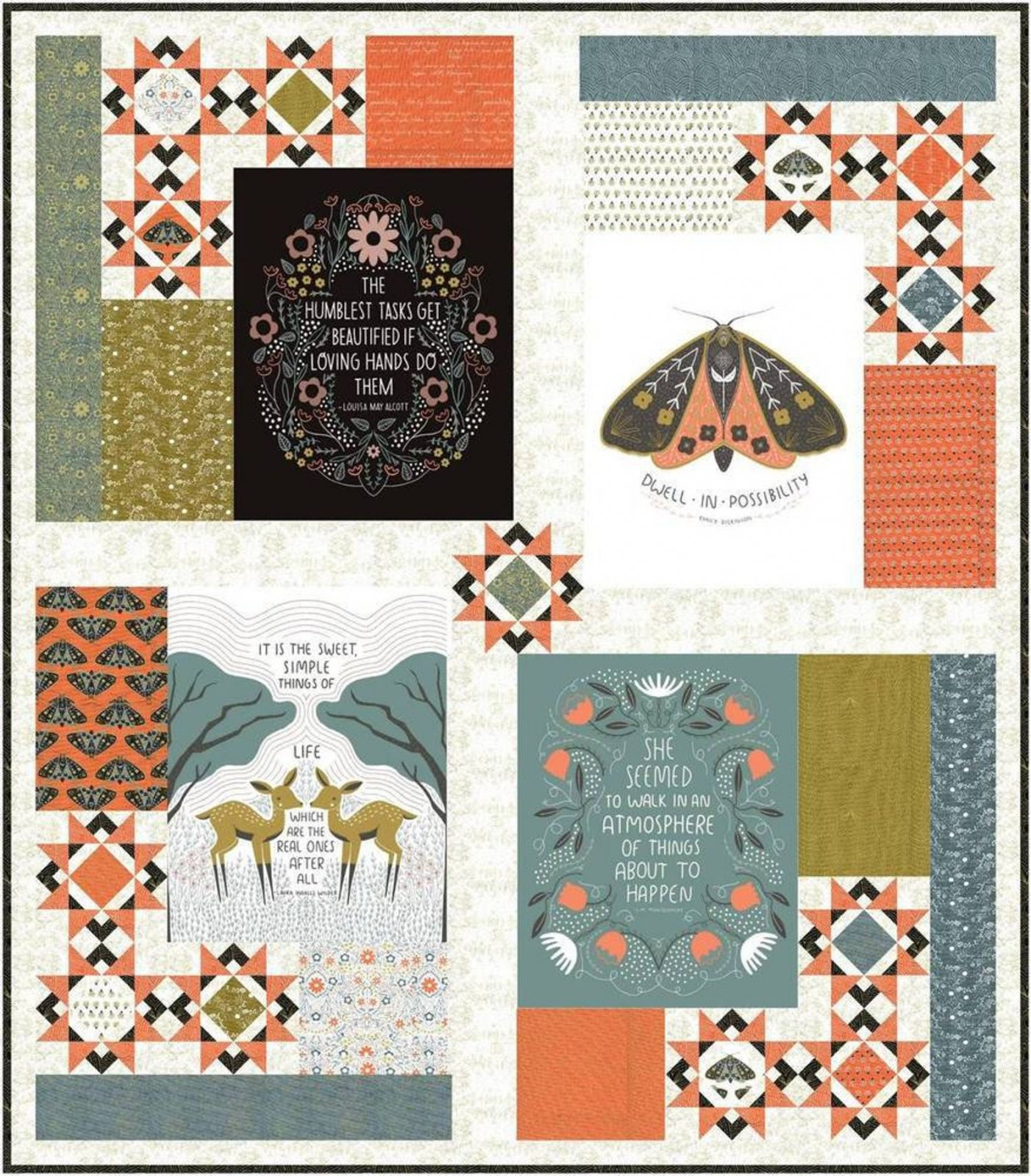 Dwell In Possibility Quilt Kit