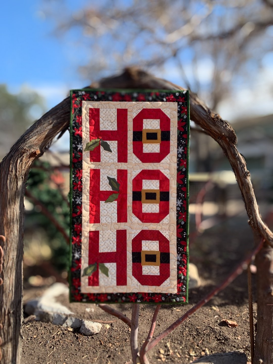 Ho Ho Ho Fabric Kit