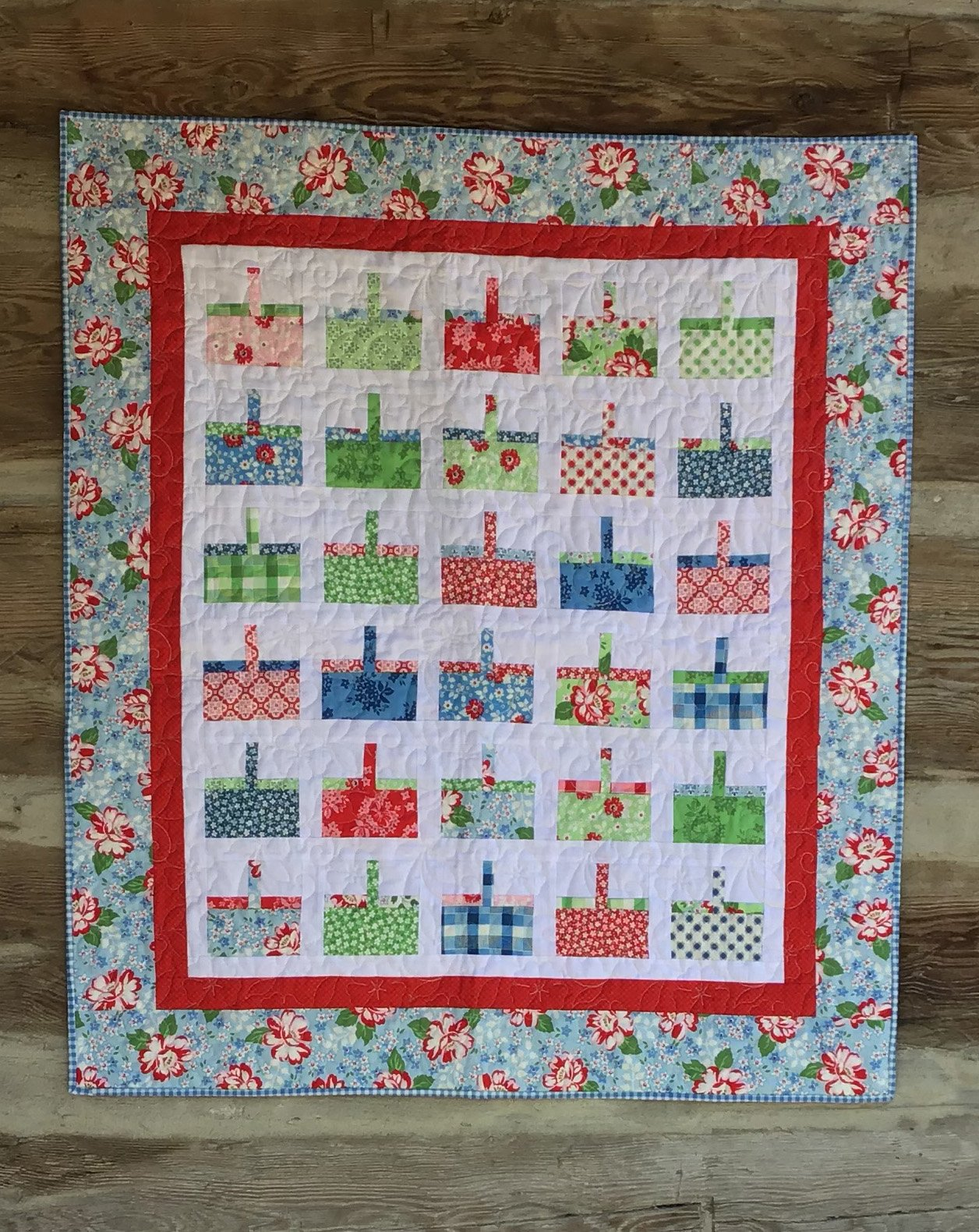 Bitty Baskets Quilt Kit