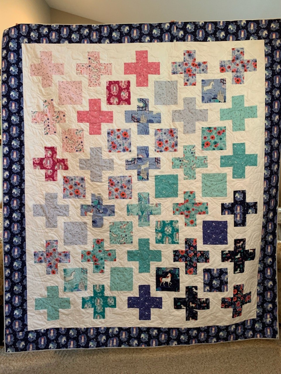 Unicorn Fabric Kit