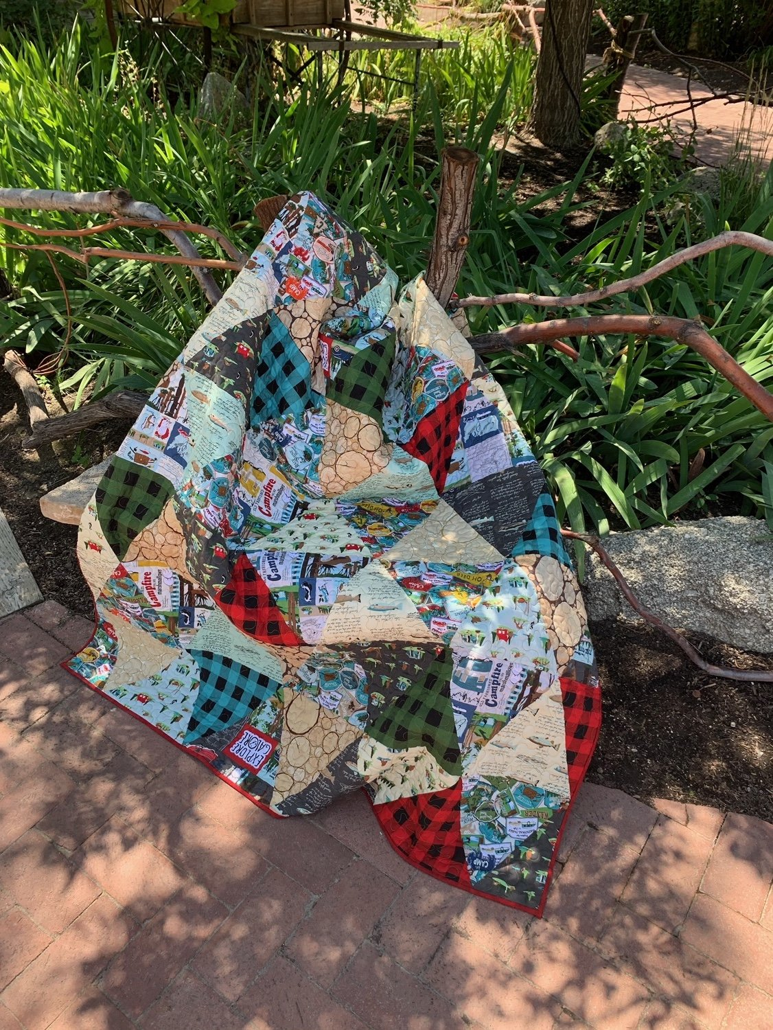 Gone Camping Quilt Kit