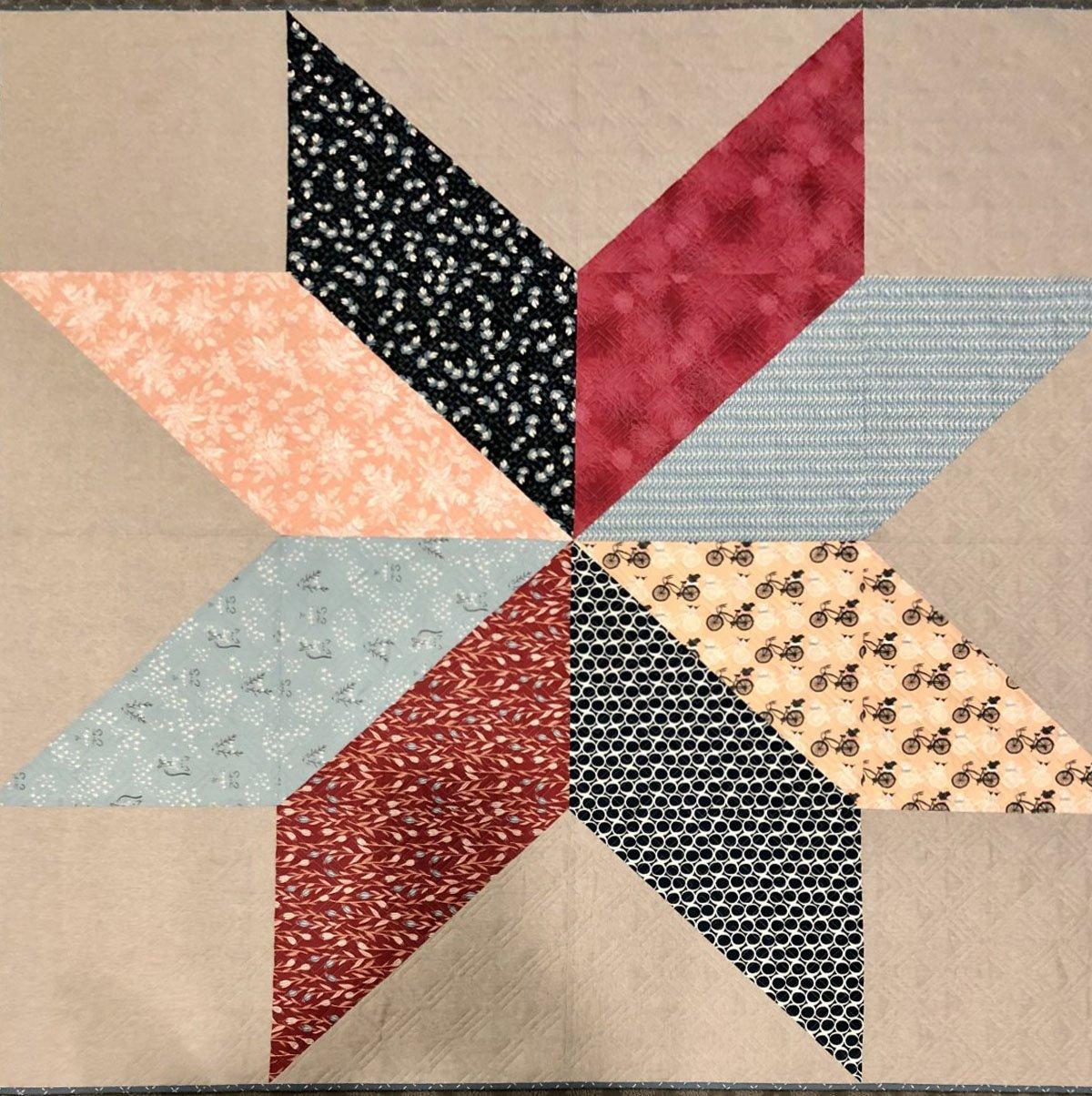 Large Star Fabric Kit