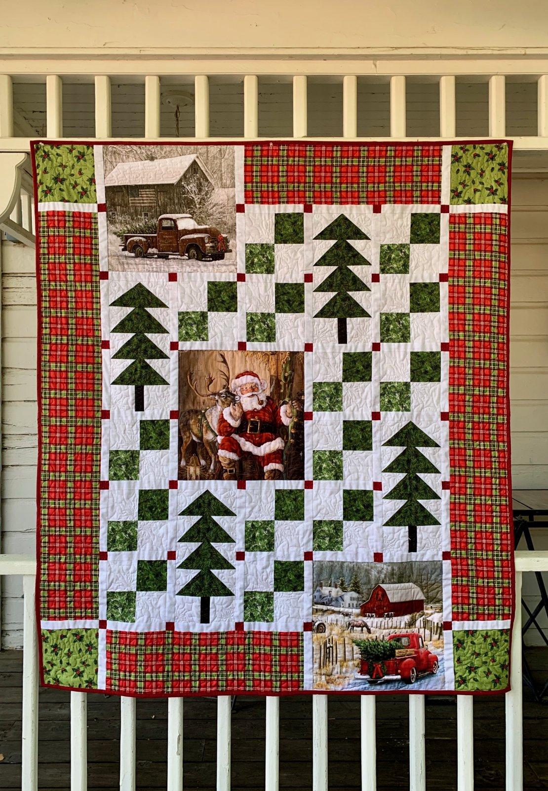 Christmas Panels Quilt Kit
