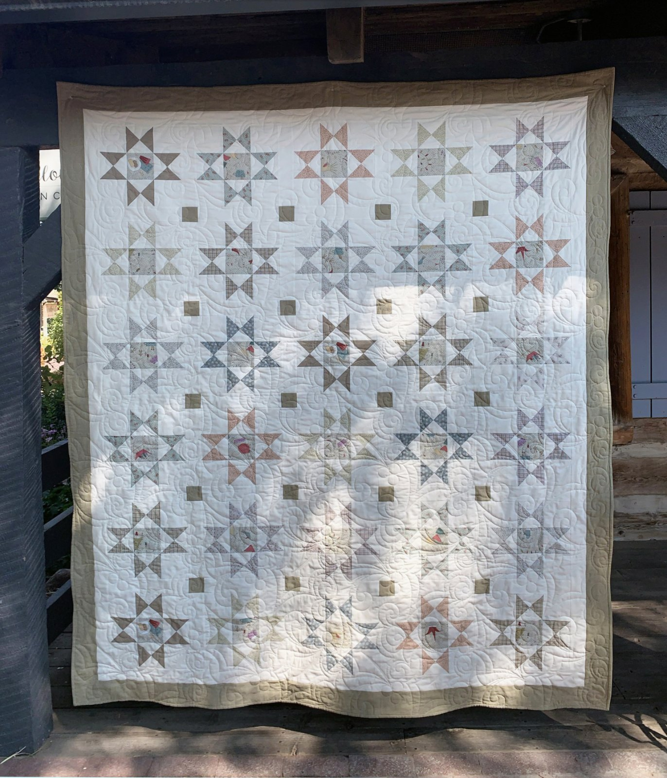 All For Christmas Ohio Star quilt pattern   Digital Download