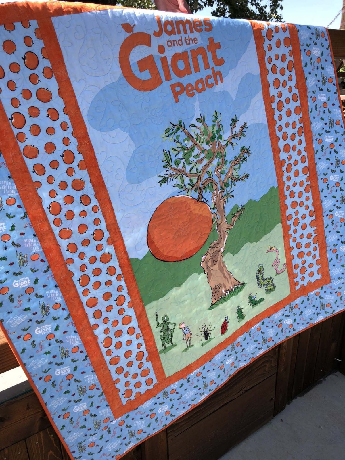 James and the Giant Peach Quilt Kit