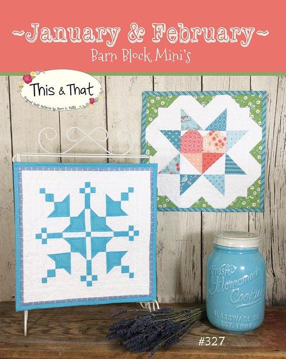 January & February Barn Block Mini's