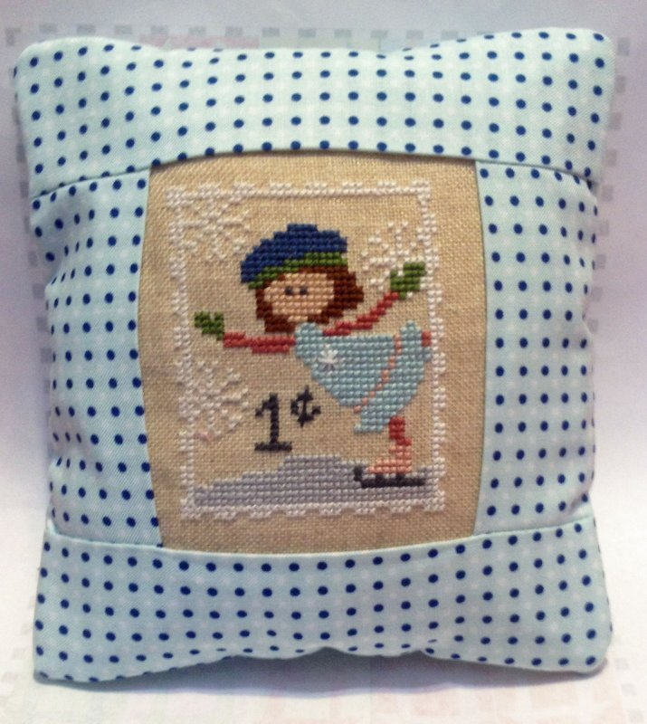 January Stamp Special Delivery Pillow Kit