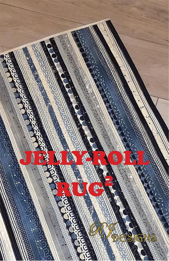 Jelly Roll Rug-Rectangle