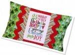 Jingle Typography Pillow Kit