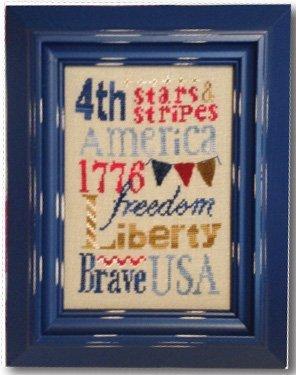 Liberty Typography - Digital Download Pattern