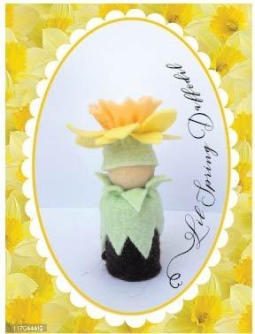 Buttercup Lil Daffodil peg doll kit