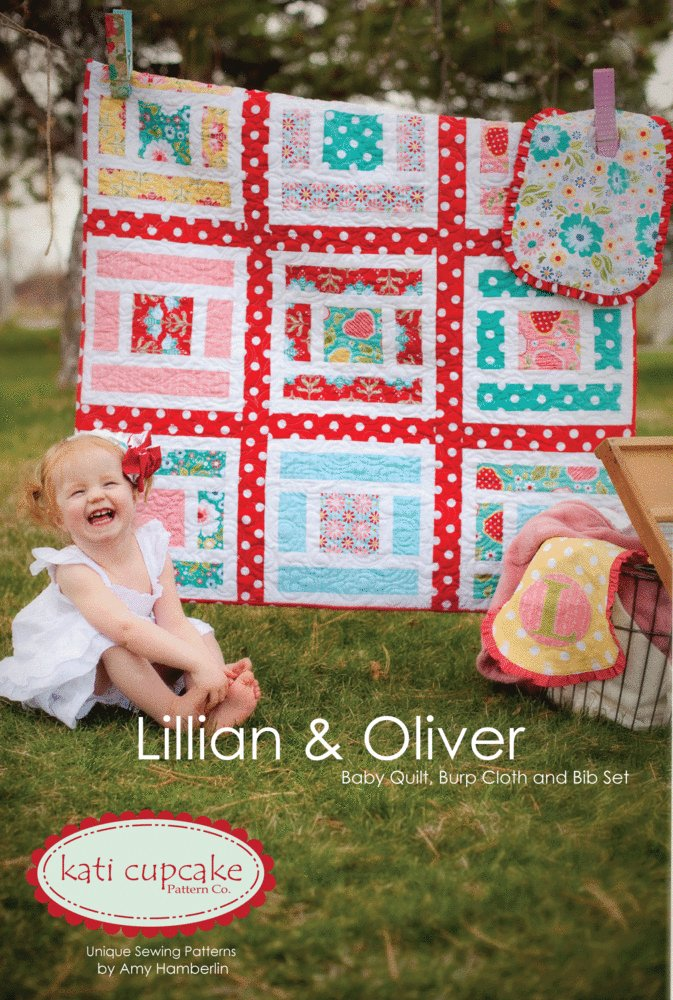Lillian & Oliver quilt pattern by Kati Cupcake